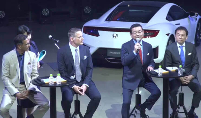 Honda Motors - NSX Japan Launch Event